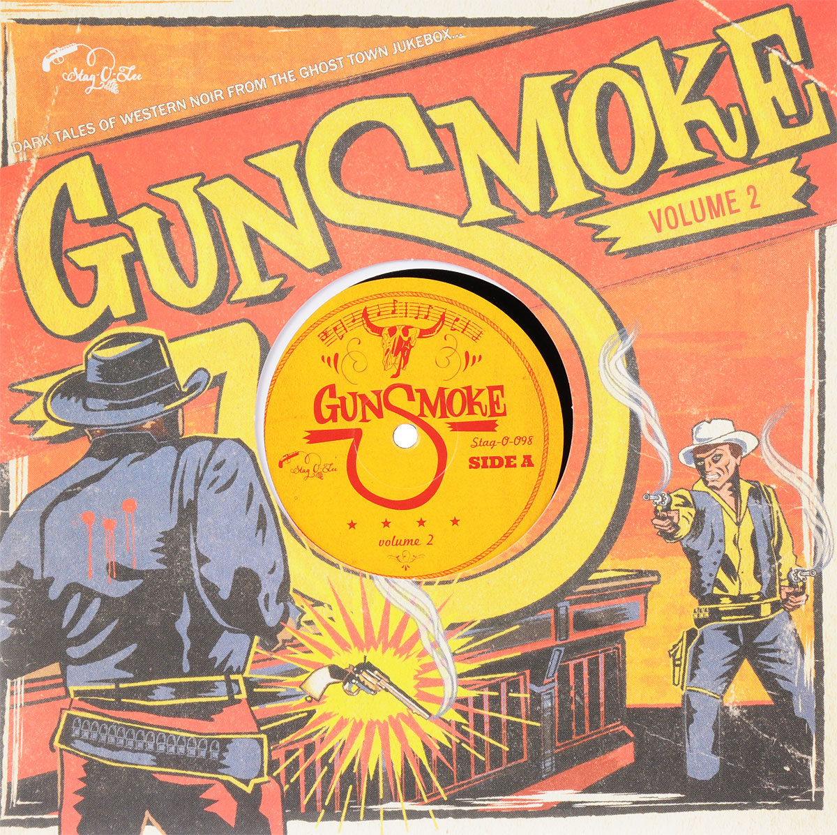 Gunsmoke Vol. 2 - Dark Tales Of Western Noir From The Ghost Town Jukebox (LP) port noir port noir   any way the wind carries  2 lp