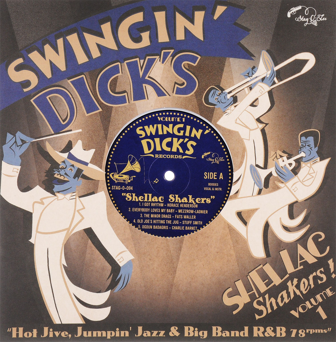 Swingin' Dick's Shellac Shakers Volume 1 (LP) yunhee lee kara angel diary volume 2