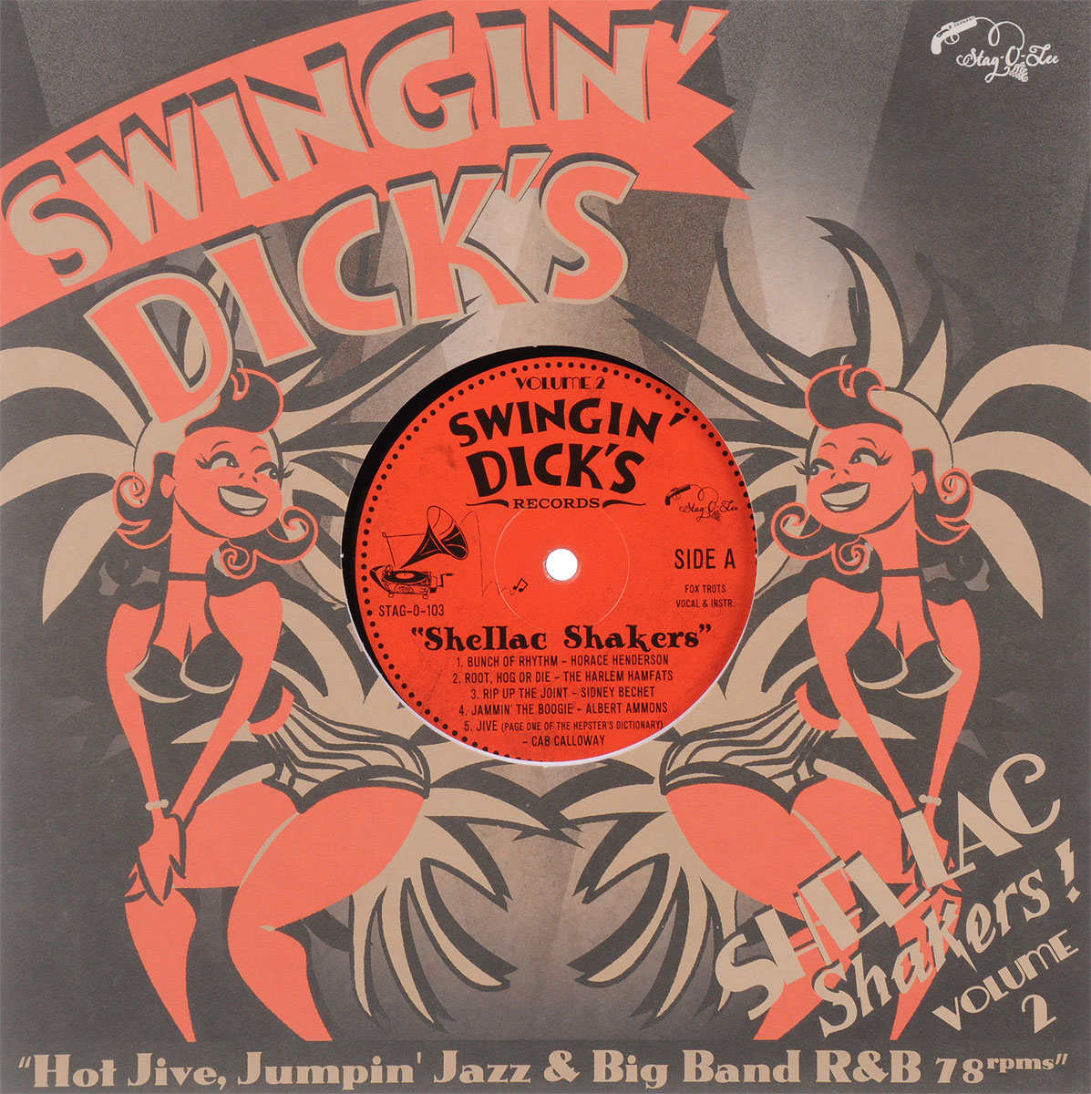Swingin' Dick's Shellac Shakers Volume 2 (LP) yunhee lee kara angel diary volume 2