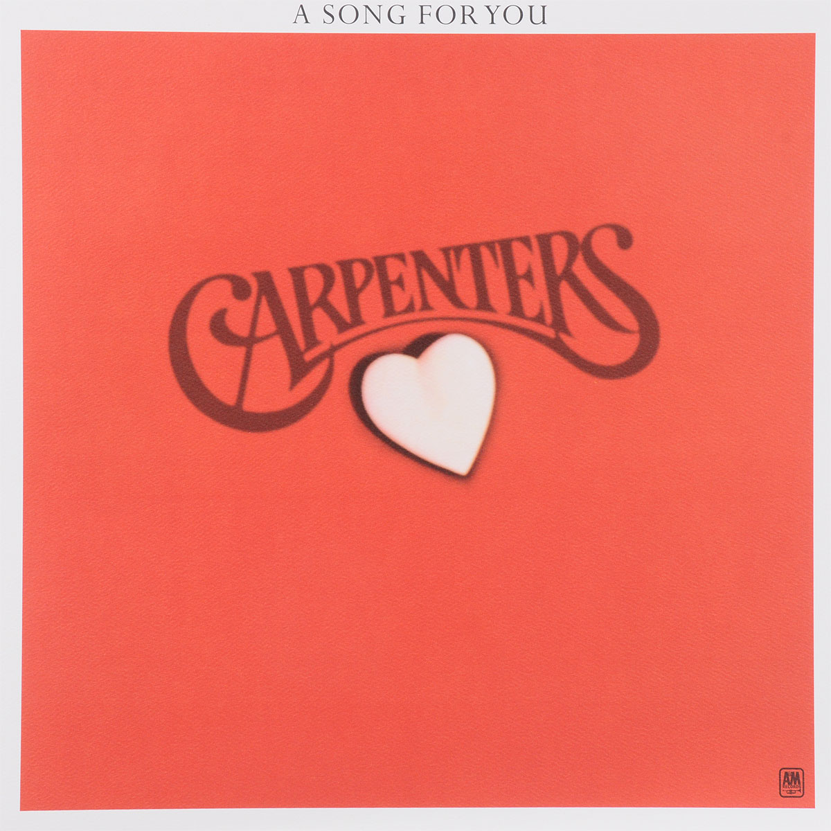 The Carpenters Carpenters. A Song For You (LP) a song for summer