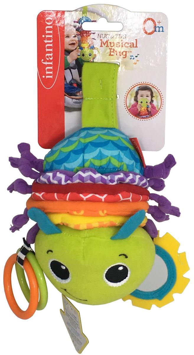 Infantino Музыкальная игрушка Гусеничка - Игрушки для малышей