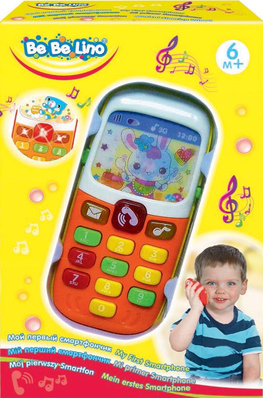 BebeLino Электронная игрушка Мой первый смартфончик игрушка электронная мой первый ноутбук