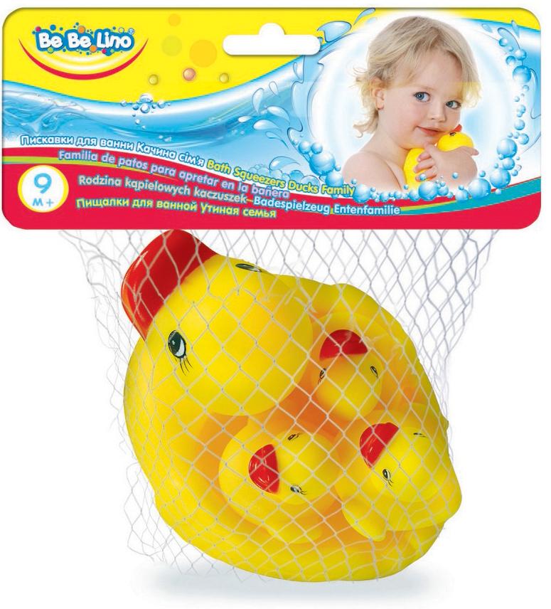 BebeLino Игрушка для ванной Утиная семья bebelino электронная игрушка музыкальный плеер с голосами животных