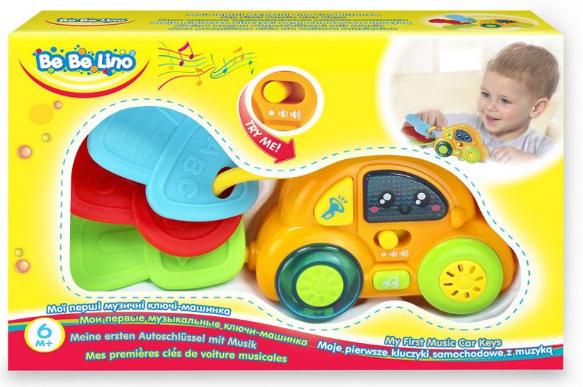 BebeLino Развивающая игрушка Мои первые музыкальные ключи-машина