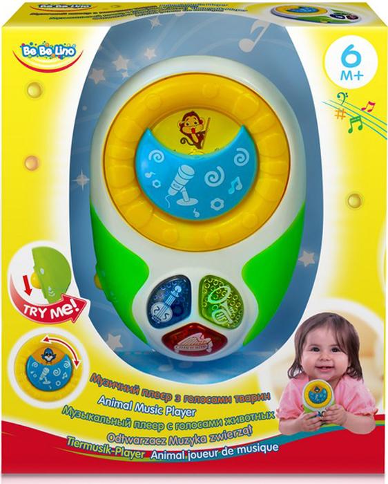 BebeLino Электронная игрушка Музыкальный плеер с голосами животных