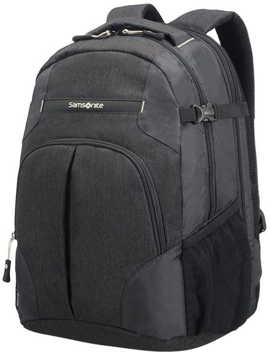 Рюкзак городской Samsonite Rewind, цвет: черный, 29 л10N-09003Практичный городской рюкзак Samsonite Rewind выполнен из качественного полиэстера.Рюкзак содержит два вместительных отделения, закрывающихся на застежку-молнию. Внутри одного из отделений есть специальный внутренний чехол для ноутбука.Лицевая сторона рюкзака дополнена накладным карманом на молнии, который оснащен внутренним органайзером для мелочей.Рюкзак дополнен петлей для подвешивания, удобной ручкой и двумя эргономичными лямками регулируемой длины.Модель включает в себя дождевик, а также удобный держатель для ключа. Рюкзак можно увеличить в объеме с помощью широких ремней на фастексах.Боковые стенки дополнены универсальными сетчатыми карманами, которые могут служить как держатели для бутылок.Стильный рюкзак станет незаменимым аксессуаром, который вместит в себя все необходимое.