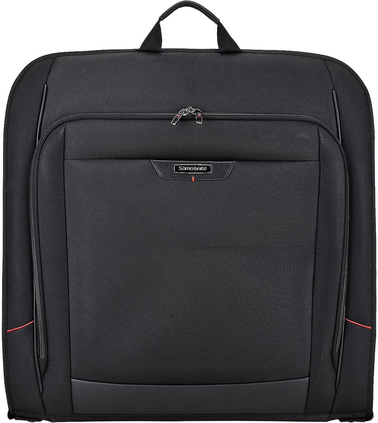 Портплед Samsonite PRO-DLX 4, цвет: черный, 54 х 8 х 54 см. 35V-0901735V-09017Портплед Samsonite из коллекции PRO-DLX 4 - это улучшенный и облегченный багаж,призванный сделать бизнес-поездки еще комфортнее и безопаснее.Портплед PRO-DLX 4выполнен из плотного нейлона с дополнительными вставками из натуральной кожи изастегивается на двойную застежку-молнию. Основной отдел в форме чехла с вешалкой. Модель также имеет специальный карман для планшета с диагональю экрана до 10 дюймов. Инновационные разработки от бренда Samsonite позволили использовать в изготовлении сумокбезопасные прочные материалы, а съемные ремни на плечо оборудовать дополнительнойкомфортной вставкой.Внутреннее пространство портпледа продумано до мелочей:фиксация ноутбуков, встроенные сетчатые перегородки, защитные вставки и навесной кодовыйзамок с системой TSA - ничто не угрожает вашему багажу во время самых длительныхкомандировок.