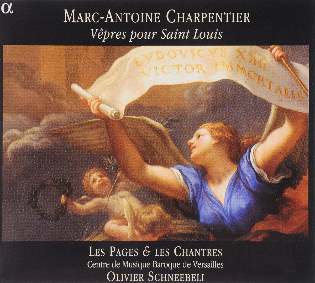 Zakazat.ru VARIOUS. CHARPENTIER, M.-A./VEPRES POUR SAINT LOUIS/CENTRE FOR BAROQUE MUSIC AT VERSAILLES/SCHNEEBELI, O.. 1