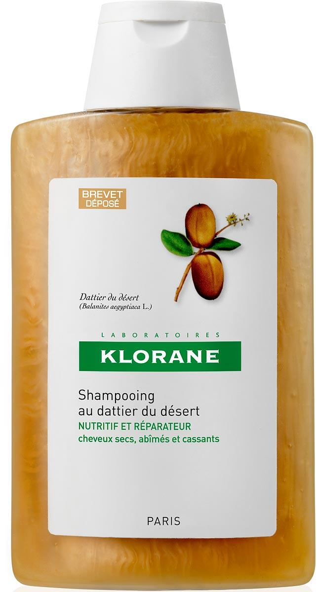 Klorane Шампунь питательный с маслом финика пустынного, 200 млC38411Восстанавливает упругость и эластичность волос, проникая в самое сердце волосяного стрежня. Благодаря насыщенной кремовой текстуре шампунь хорошо пенится и легко распределяется по всей длине волос. А мягкая моющая основа очень деликатно очищает волосы, не нарушая целостность гидро-липидной пленки волоса. Волосы становятся мягкими, упругими и эластичными уже после первого применения.