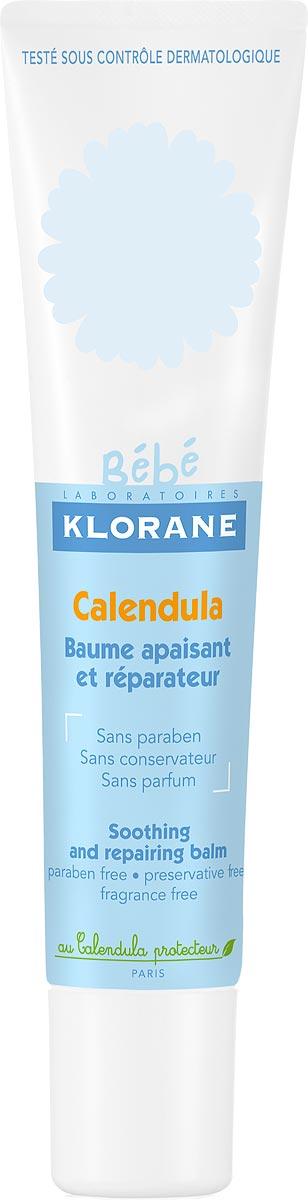 Klorane Bebe Бальзам смягчающий восстанавливающий с календулой, 40 млC32704Бальзам смягчающий восстанавливающий быстро успокаивает, заживляет и возвращает коже комфорт. Обеспечивает эффективную защиту коже от ветра, холода, трения подгузника или одежды, укусов насекомых или ожогов от растений, а также от покраснений вокруг рта. Календула, богатая ?-каротином и провитамином А, обладает способностью восстанавливать физиологическое равновесие эпидермиса. Кожа успокаивается и смягчается, уменьшаются покраснения.