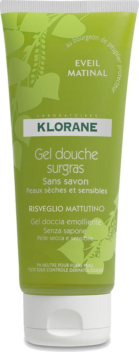 Klorane Увлажняющий гель для душа Бодрость, 200 млC04771Средство нежно очищает, увлажняет и тонизирует сухую и чувствительную кожу, усиливая ее природную защиту. Изысканный фруктовый аромат тонизирует, создает хорошое настроение на целый день.Нотки цедры мандарина, лимона, грейпфрута в сочетании с ароматом жасмина дарят бодрящий заряд энергии на целый день.