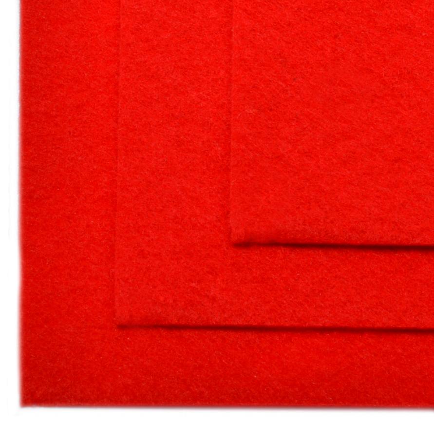 Фетр листовой Ideal, жесткий, цвет: красный (601), 20 х 30 см, 10 штTBY.FLT-H1.601Листовой фетр используют для изготовления оригинальных сувениров, аппликаций и картин. Многообразие расцветок, большой выбор листов по плотности и толщине позволяют подобрать материал на любой вкус.Толщина: 1 мм.
