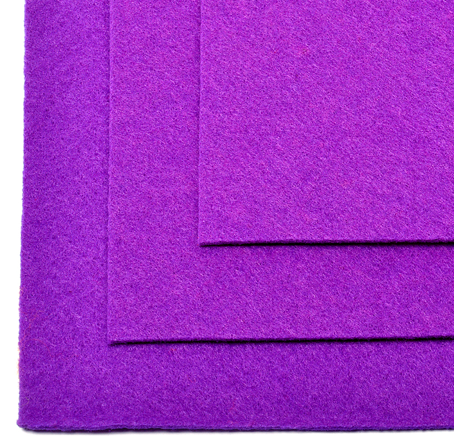 Фетр листовой Ideal, жесткий, цвет: фиолетовый (620), 20 х 30 см, 10 штTBY.FLT-H1.620Листовой фетр используют для изготовления оригинальных сувениров, аппликаций и картин. Многообразие расцветок, большой выбор листов по плотности и толщине позволяют подобрать материал на любой вкус.Толщина: 1 мм.