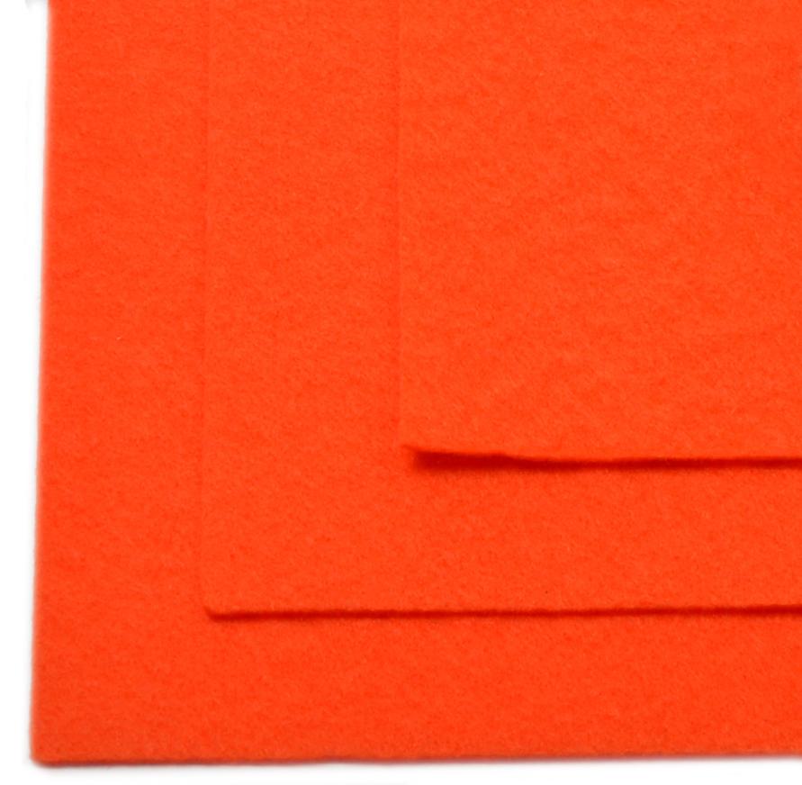 Фетр листовой Ideal, жесткий, цвет: оранжевый (628), 20 х 30 см, 10 шт7712590_283Листовой фетр используют для изготовления оригинальных сувениров, аппликаций и картин. Многообразие расцветок, большой выбор листов по плотности и толщине позволяют подобрать материал на любой вкус.Толщина: 1 мм.