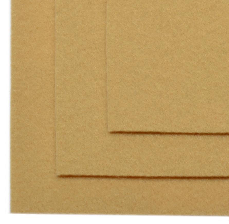 Фетр листовой Ideal, жесткий, цвет: светло-бежевый (641), 20 х 30 см, 10 шт551780Листовой фетр используют для изготовления оригинальных сувениров, аппликаций и картин. Многообразие расцветок, большой выбор листов по плотности и толщине позволяют подобрать материал на любой вкус.Толщина: 1 мм.