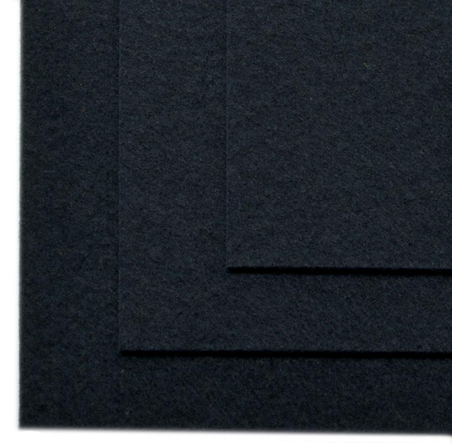 Фетр листовой Ideal, жесткий, цвет: черный (651), 20 х 30 см, 10 шт7712590_229Листовой фетр используют для изготовления оригинальных сувениров, аппликаций и картин. Многообразие расцветок, большой выбор листов по плотности и толщине позволяют подобрать материал на любой вкус.Толщина: 1 мм.