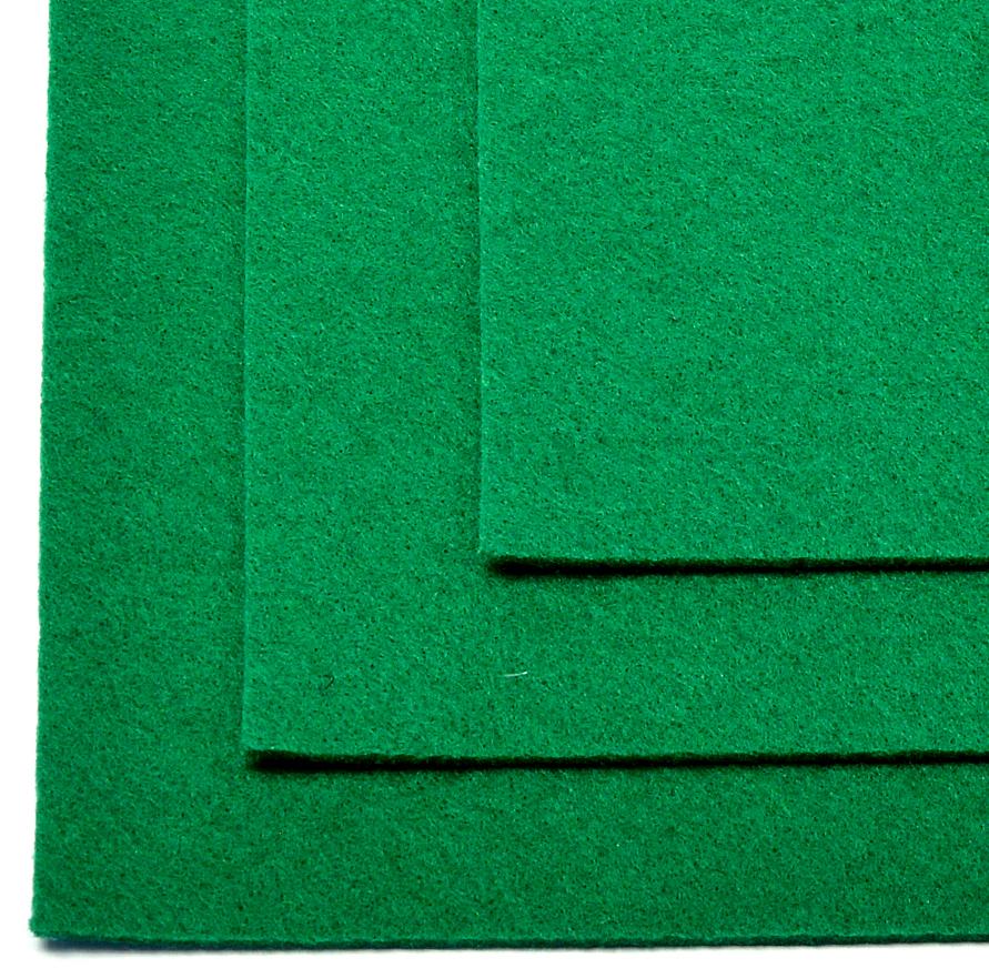 Фетр листовой Ideal, жесткий, цвет: зеленый (672), 20 х 30 см, 10 шт7712569_6Листовой фетр используют для изготовления оригинальных сувениров, аппликаций и картин. Многообразие расцветок, большой выбор листов по плотности и толщине позволяют подобрать материал на любой вкус.Толщина: 1 мм.
