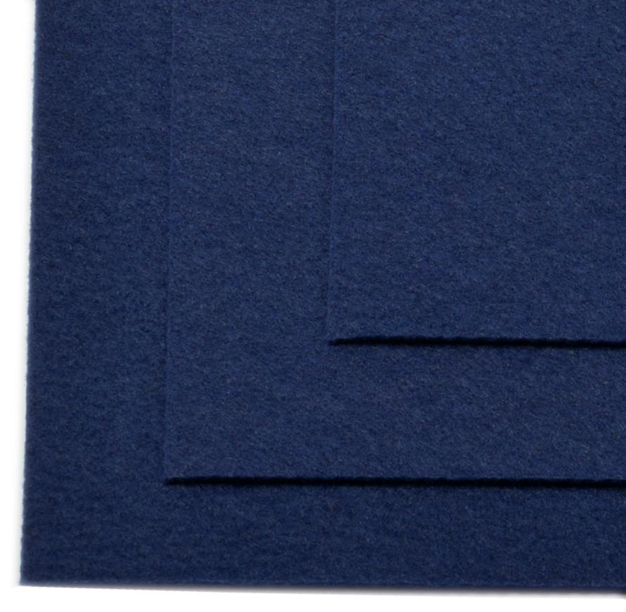 Фетр листовой Ideal, жесткий, цвет: темно-синий (673), 20 х 30 см, 10 шт2676940Листовой фетр используют для изготовления оригинальных сувениров, аппликаций и картин. Многообразие расцветок, большой выбор листов по плотности и толщине позволяют подобрать материал на любой вкус.Толщина: 1 мм.