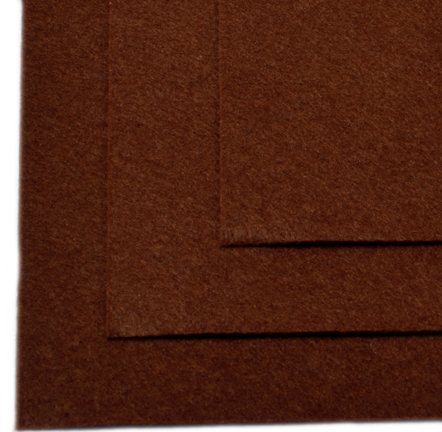 Фетр листовой Ideal, жесткий, цвет: коричневый (687), 20 х 30 см, 10 штTBY.FLT-H1.687Листовой фетр используют для изготовления оригинальных сувениров, аппликаций и картин. Многообразие расцветок, большой выбор листов по плотности и толщине позволяют подобрать материал на любой вкус.Толщина: 1 мм.