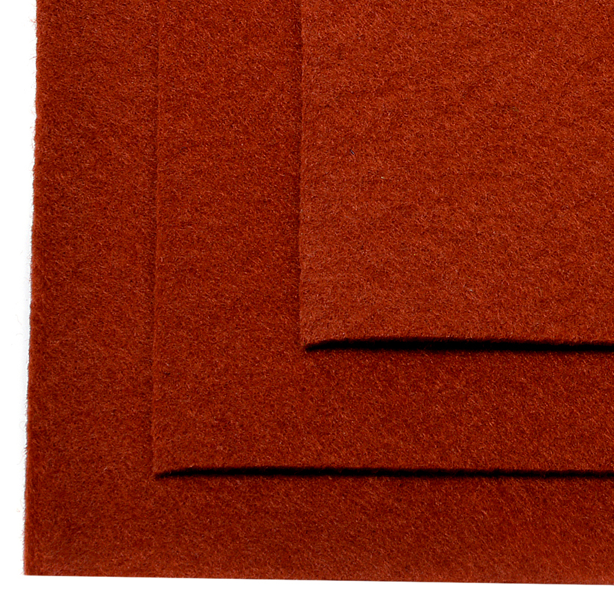 Фетр листовой Ideal, жесткий, цвет: светло-коричневый), 20 х 30 см, 10 штTBY.FLT-H1.692Листовой фетр используют для изготовления оригинальных сувениров, аппликаций и картин. Многообразие расцветок, большой выбор листов по плотности и толщине позволяют подобрать материал на любой вкус.Толщина: 1 мм.
