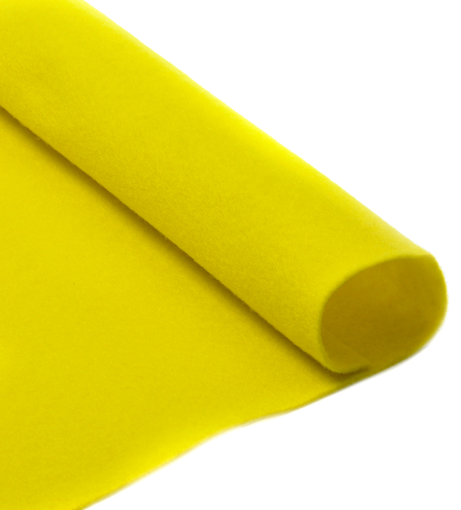 Фетр листовой Ideal, мягкий, цвет: лимонный (633), 20 х 30 см, 10 шт7712569_46Листовой фетр используют для изготовления оригинальных сувениров, аппликаций и картин. Многообразие расцветок, большой выбор листов по плотности и толщине позволяют подобрать материал на любой вкус.Толщина: 1 мм.