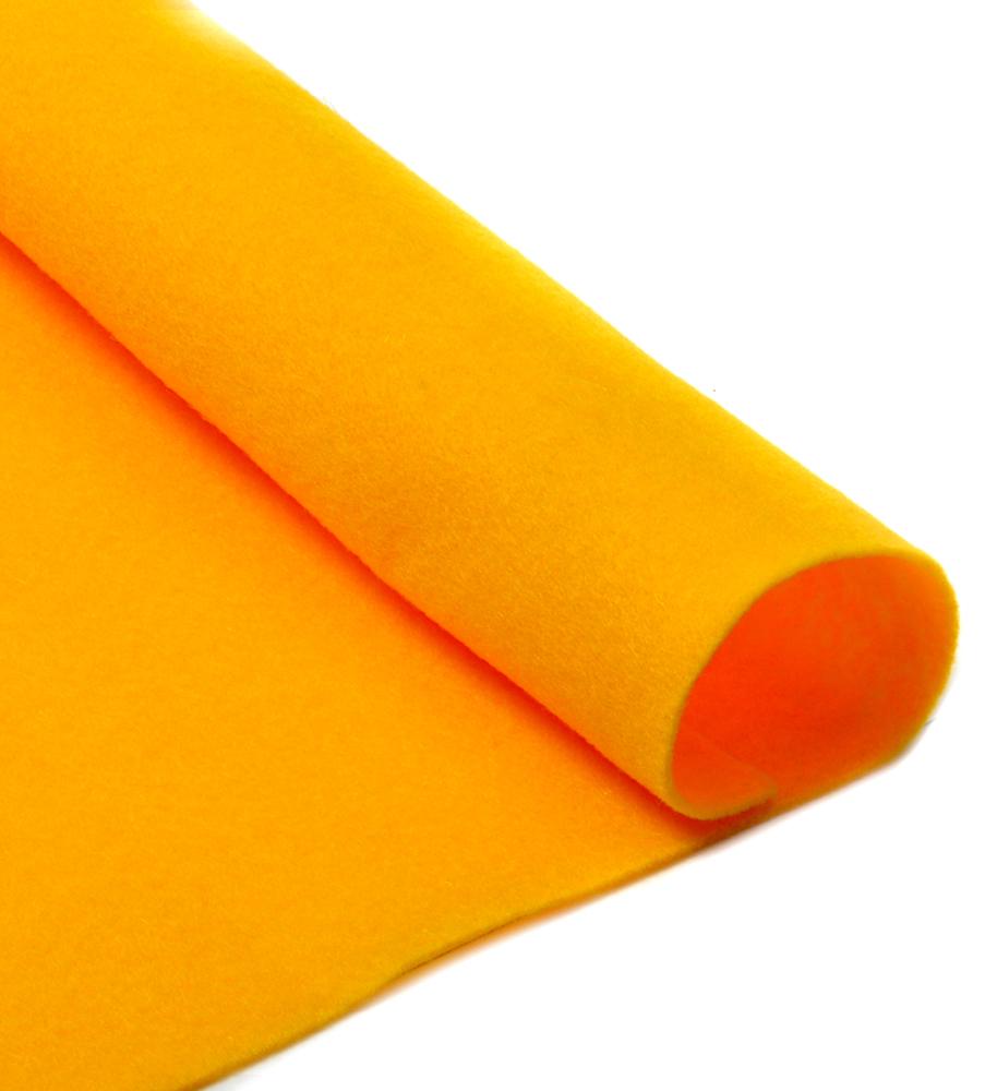 Фетр листовой Ideal, мягкий, цвет: апельсиновый (640), 20 х 30 см, 10 шт7712569_47Листовой фетр используют для изготовления оригинальных сувениров, аппликаций и картин. Многообразие расцветок, большой выбор листов по плотности и толщине позволяют подобрать материал на любой вкус.Толщина: 1 мм.