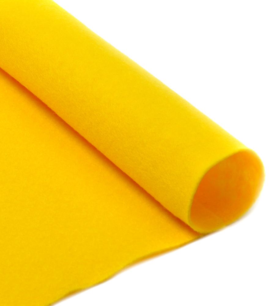 Фетр листовой Ideal, мягкий, цвет: желтый (643), 20 х 30 см, 10 штTBY.FLT-H1.601Листовой фетр используют для изготовления оригинальных сувениров, аппликаций и картин. Многообразие расцветок, большой выбор листов по плотности и толщине позволяют подобрать материал на любой вкус.Толщина: 1 мм.