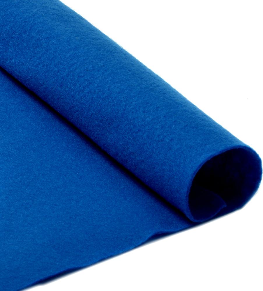 Фетр листовой Ideal, мягкий, цвет: синий (674), 20 х 30 см, 10 шт1166792Листовой фетр используют для изготовления оригинальных сувениров, аппликаций и картин. Многообразие расцветок, большой выбор листов по плотности и толщине позволяют подобрать материал на любой вкус.Толщина: 1 мм.