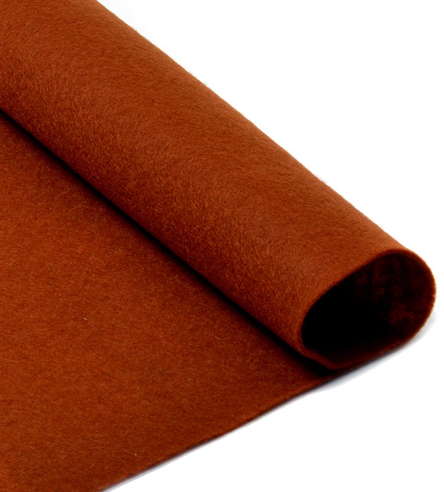 Фетр листовой Ideal, мягкий, цвет: коричневый (692), 20 х 30 см, 10 шт2739456Листовой фетр используют для изготовления оригинальных сувениров, аппликаций и картин. Многообразие расцветок, большой выбор листов по плотности и толщине позволяют подобрать материал на любой вкус.Толщина: 1 мм.