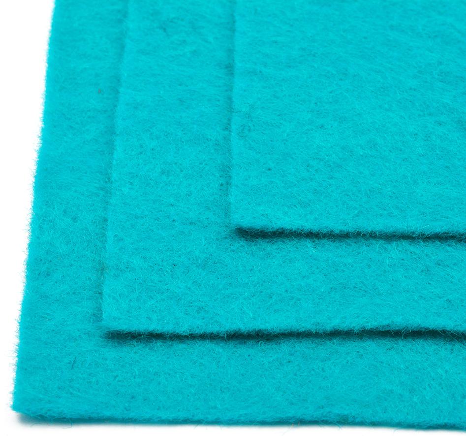 Фетр листовой Ideal, жесткий, цвет: бирюзовый, 20 х 30 см, 10 шт1122650Листовой фетр используют для изготовления оригинальных сувениров, аппликаций и картин. Многообразие расцветок, большой выбор листов по плотности и толщине позволяют подобрать материал на любой вкус.Толщина: 1 мм.