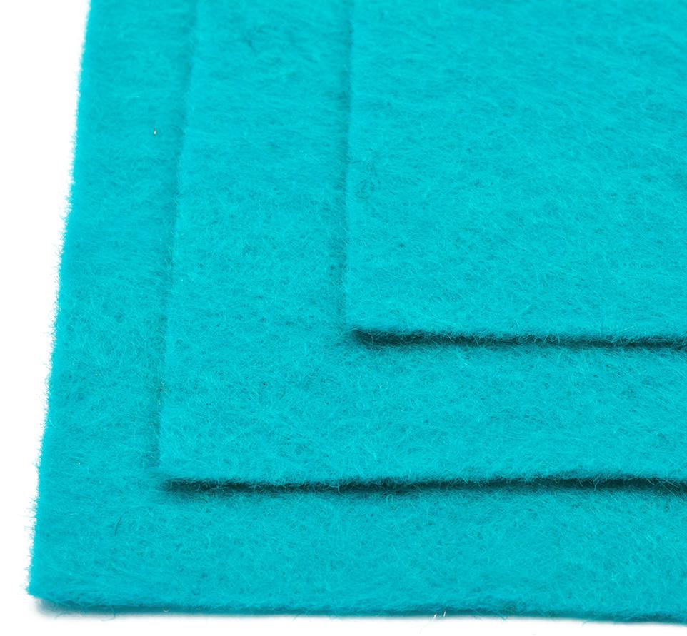 Фетр листовой Ideal, мягкий, цвет: бирюзовый (651), 20 х 30 см, 10 шт551804Листовой фетр используют для изготовления оригинальных сувениров, аппликаций и картин. Многообразие расцветок, большой выбор листов по плотности и толщине позволяют подобрать материал на любой вкус.Толщина: 1 мм.