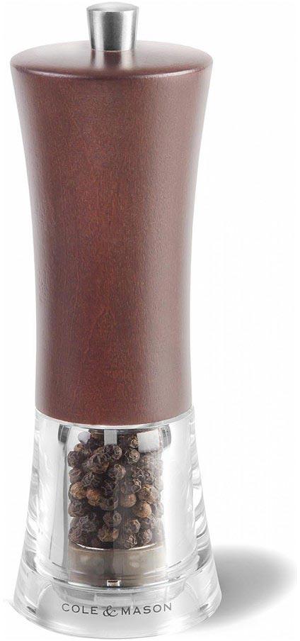 Мельница для перца Cole & Mason Genoa Forest, цвет: коричневый, 5 х 5 х 16,5 см atalanta genoa cfc
