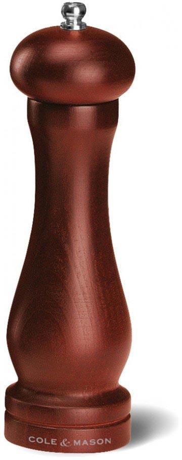Мельница для перца Cole & Mason Forest Capstan, цвет: темно-коричневый, 5 х 5 х 20 смHB0844PМельница для перца Cole & Mason Forest Capstan, изготовленная из дерева, оснащена стальным механизмом. У мельницы есть разные режимы помола - от мелкого до крупного.
