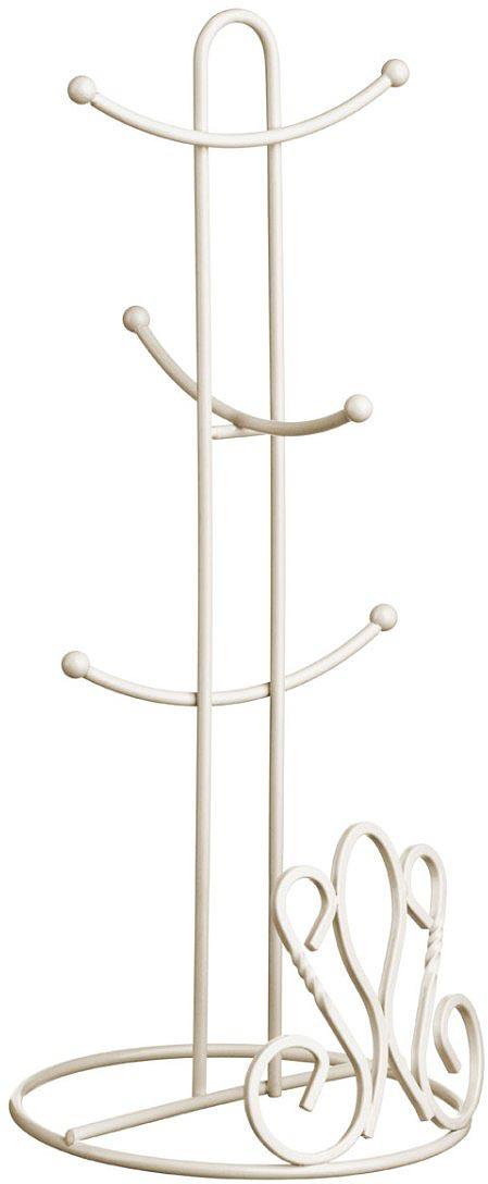 Подставка для кружек Walmer Provence, цвет: светло-бежевый, 16 х 16 х 37,5 смW14002137Подставка для шести предметов позволит компактно разместить целый набор кружек.