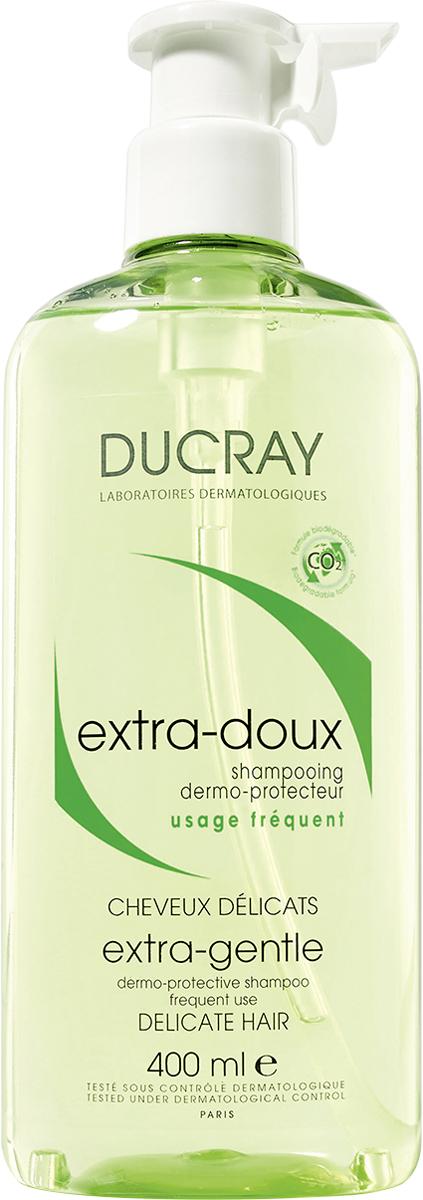 Ducray Экстра-Ду Защитный шампунь для частого применения, 400 млC49673Уникальный шампунь для всей семьи. Мягкая формула шампуня защищает кожу головы, делает волосы послушными, восстанавливая их силу, красоту и блеск. Его биоразлагаемая формула была разработана таким образом, чтобы свести к минимуму воздействие на окружающую среду. Не раздражает глаза.