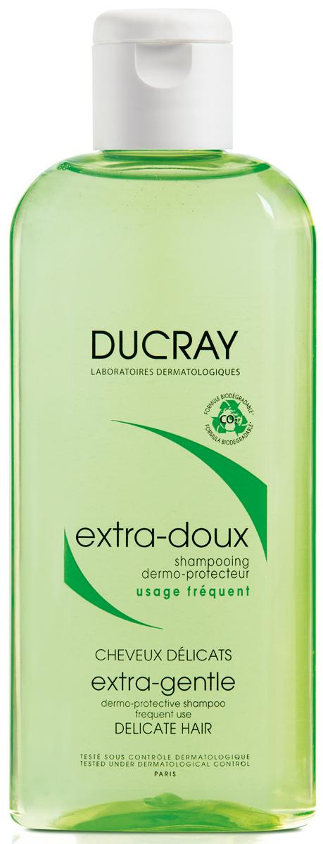 Ducray Экстра-Ду Защитный шампунь для частого применения, 200 млC55870Уникальный шампунь для всей семьи. Мягкая формула шампуня защищает кожу головы, делает волосы послушными, восстанавливая их силу, красоту и блеск. Его биоразлагаемая формула была разработана таким образом, чтобы свести к минимуму воздействие на окружающую среду. Не раздражает глаза.