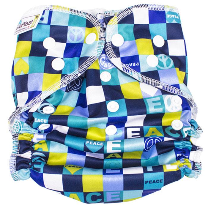 GlorYes! Многоразовый подгузник для плавания Мозаика 3-18 кг нагрудник gloryes цветы