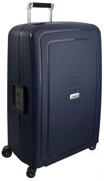 Чемодан Samsonite S'Cure DLX, цвет: темно-синий, 102 л. U44-01002 чемодан samsonite чемодан 78 см base boost