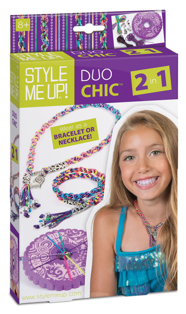 Style Me Up Набор для создания украшений 2 в 1 Duo Chic