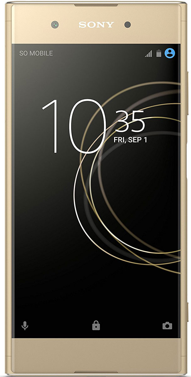 Sony Xperia XA1 Plus Dual, Gold - Смартфоны