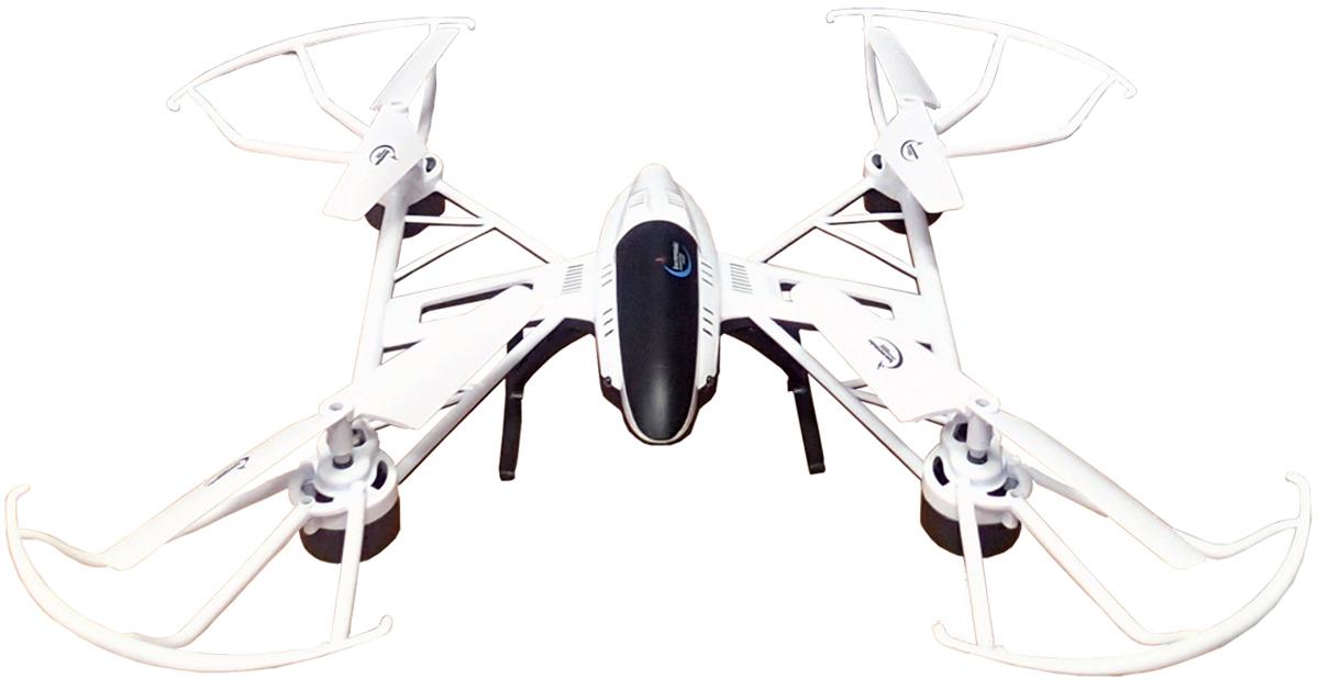 Властелин небес Квадрокоптер на радиоуправлении Космолет цвет белый