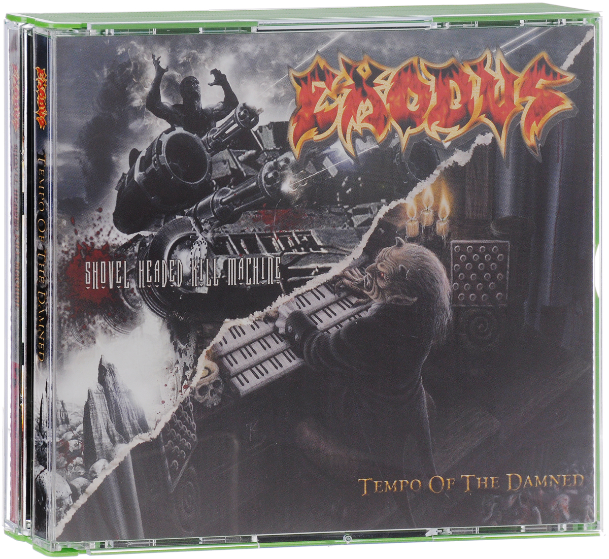 Zakazat.ru Exodus. Tempo Of The Damned / Shovel Headed Kill Machine (2 CD)