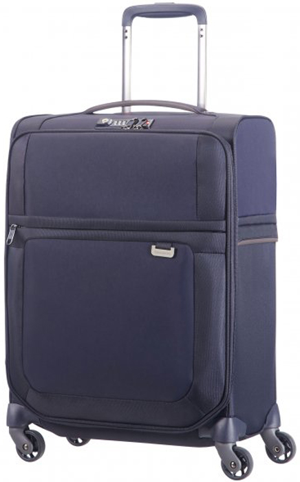 Чемодан Samsonite Uplite, цвет: темно-синий, 41 л. 99D-01004 чемодан samsonite чемодан 78 см base boost