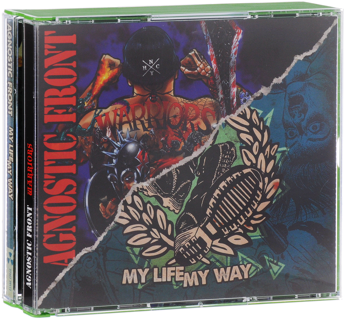 Agnostic Front Agnostic Front. Warriors / My Life My Way (2 CD) lace up front tribal swimsuit