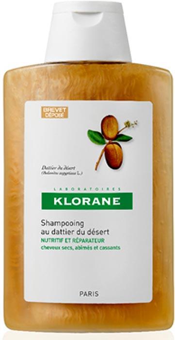 Klorane Шампунь питательный с маслом финика пустынного, 400 млC57620Восстанавливает упругость и эластичность волос, проникая в самое сердце волосяного стрежня. Благодаря насыщенной кремовой текстуре шампунь хорошо пенится и легко распределяется по всей длине волос. А мягкая моющая основа очень деликатно очищает волосы, не нарушая целостность гидро-липидной пленки волоса. Волосы становятся мягкими, упругими и эластичными уже после первого применения.