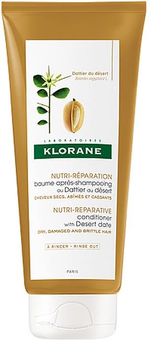 Klorane Бальзам-ополаскиватель питательный с маслом финика пустынного, 200 млC73365Бальзам-ополаскиватель с маслом финика интенсивно питает и восстанавливает структуру волоса изнутри. Уникальное сочетание активных компонентов растительного происхождения глубоко восстанавливает сухие, ломкие и поврежденные волосы. Чтобы восстановить сухие, поврежденные и ломкие волосы, регулярно используйте Клоран Бальзам с маслом Финика пустынного. Он обладает легкой текстурой и не утяжеляет волосы. Средство разглаживает кутикулу, наполняет волосы жизненной силой, питает и укрепляет их. После использования бальзама волосы восстанавливаются по всей длине, становятся блестящими, крепкими, сильными и эластичными.