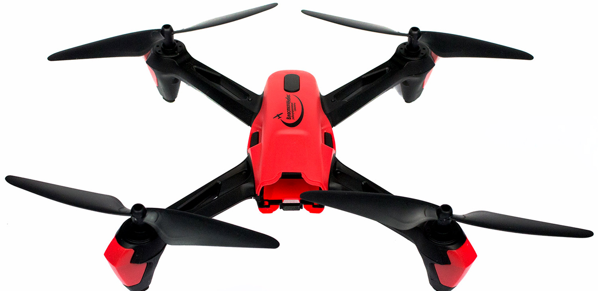 Властелин небес Квадрокоптер Спринтер цвет черный красный