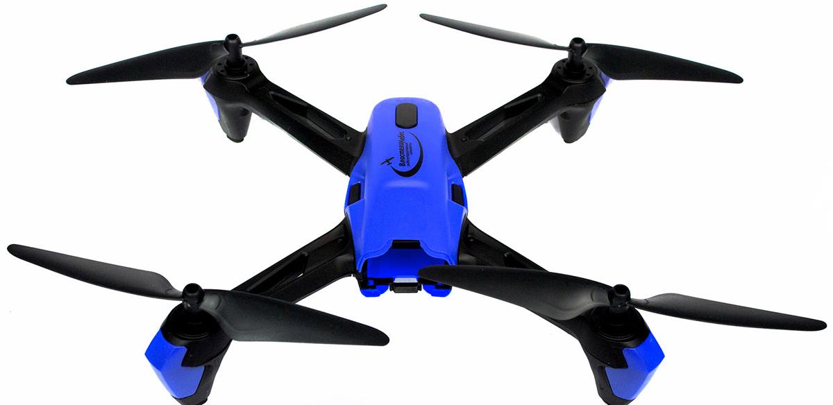 Властелин небес Квадрокоптер Спринтер цвет черный синий радиоуправляемый инверторный квадрокоптер mjx x904 rtf 2 4g x904 mjx