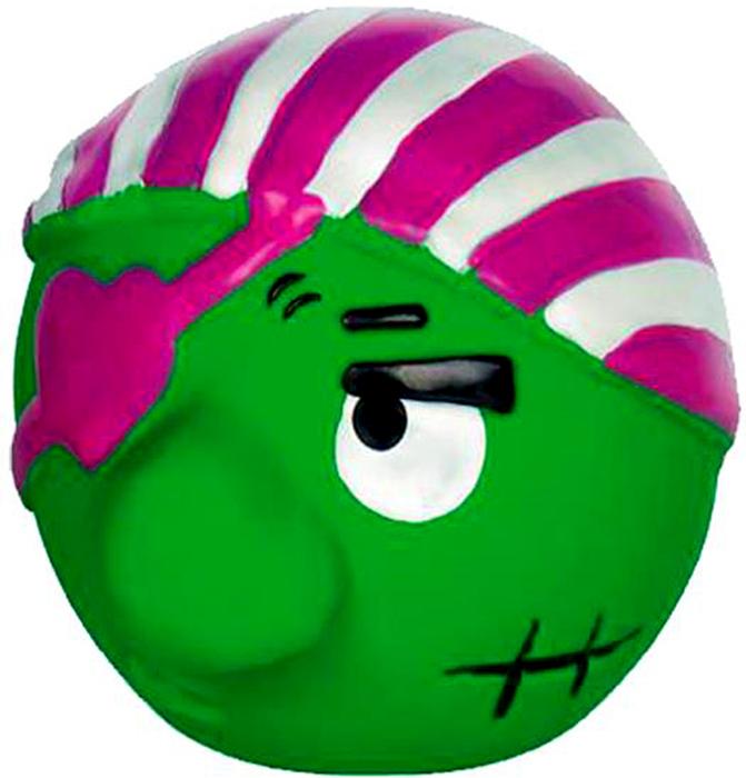 Игрушка для животных Nobby Мяч Пират, 6,5 см67215Игрушка из латекса - пират, яркой расцветки с пищалкой.