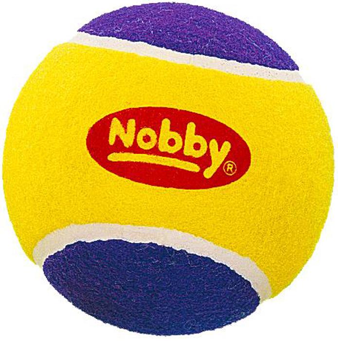 Игрушка для собак Nobby Мяч теннисный, диаметр 10 см79446Игрушка для животных Nobby Мяч теннисный изготовлена из резины. Не позволит скучать вашему любимцу. Игрушка поможет занять щенка во время смены зубов, а расшалившаяся взрослая собака не будет грызть мебель, обувь и другие нужные вещи.